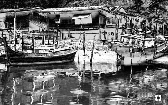ricordando un villaggio di pescatori Thai - Modica (2400 clic)