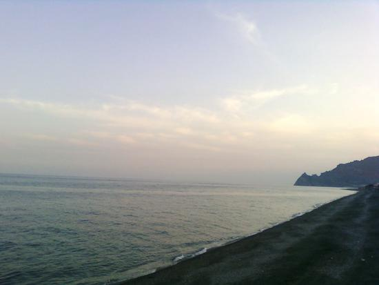 Santa Teresa di Riva, prime luci del tramonto in aprile (2375 clic)