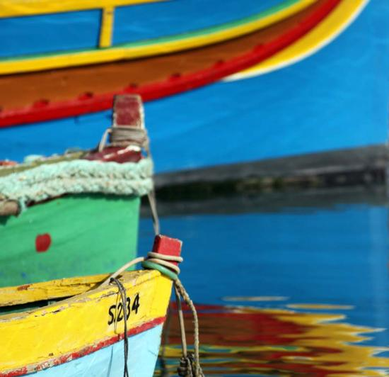 Barche e riflessi (871 clic)