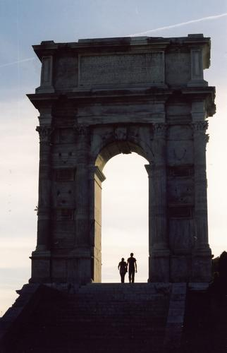 Arco di Traiano - Ancona (2601 clic)