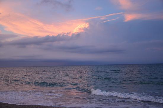 Nuvole all'orizzonte - Senigallia (2146 clic)