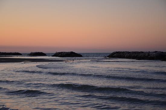 Tramonto autunnale.....al mare - Fano (2959 clic)