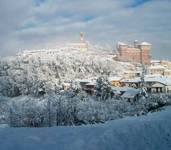 nevicata del 2 dicembre 2005 - Cereseto (3768 clic)