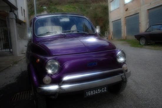 FIAT 500 viola - CURINGA - inserita il 05-Aug-08