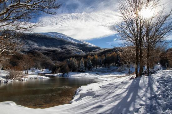 Inverno - Lago Calamone - Ramiseto (707 clic)