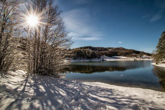Inverno - Lago Calamone - Ramiseto (564 clic)