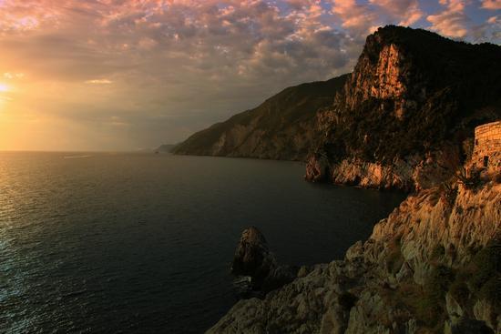 Portovenere - tramonto (3895 clic)