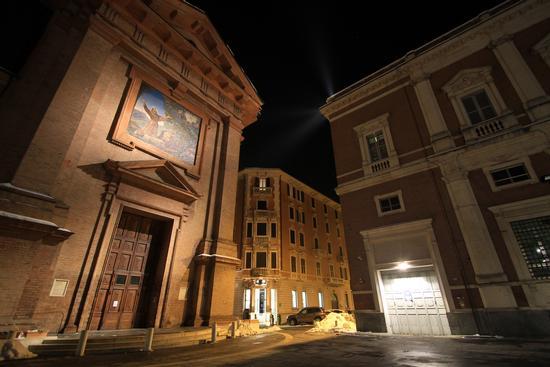 La città di notte - Reggio emilia (5569 clic)