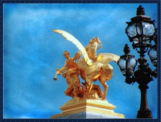 Ponte di Alessandro III ( Parigi ) - Erice (3837 clic)