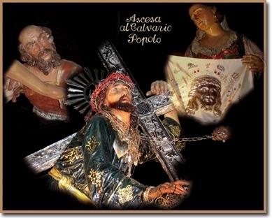 Ascesa al calvario   Ceto del Popolo - Trapani (3332 clic)