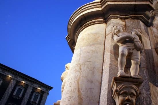 Fontana dell' Elefante - Catania (4584 clic)