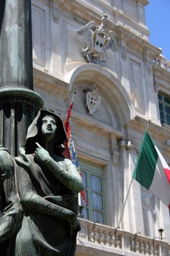 Il lampione di Gammazita  - Catania (4774 clic)