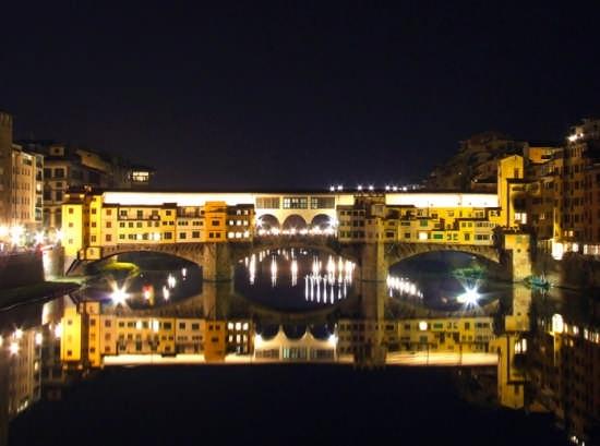 Ponte Vecchio in notturno - Firenze (5208 clic)