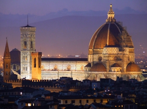 Santa Maria del Fiore - Firenze (20930 clic)