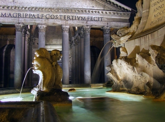 Pantheon - Roma (4035 clic)
