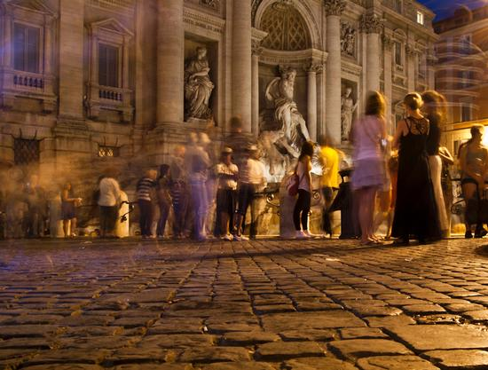 Roma Fontana di Trevi (3896 clic)