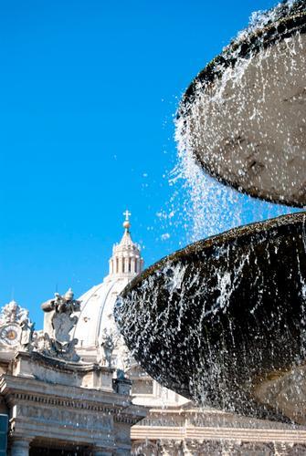 Fontana San Pietro Città del Vaticano - Roma (2575 clic)