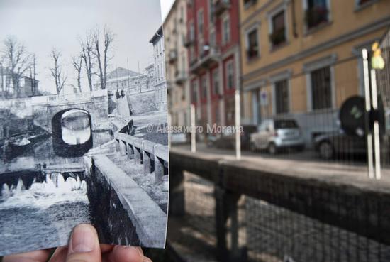 Milano Ponte delle Gabelle (1988 clic)