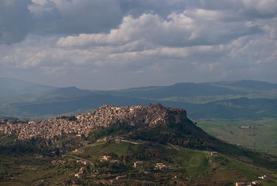 Vista di Calascibetta (2583 clic)