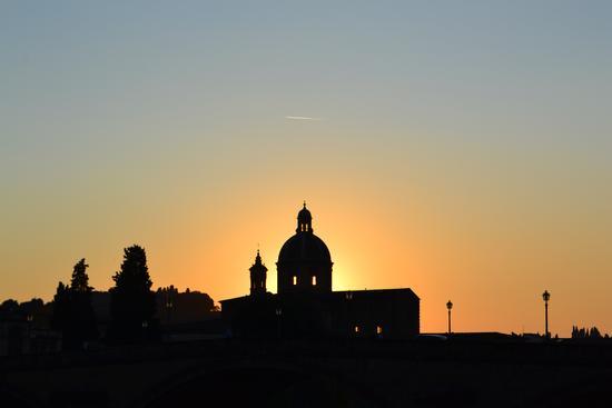 Scie al tramonto - Firenze (2192 clic)