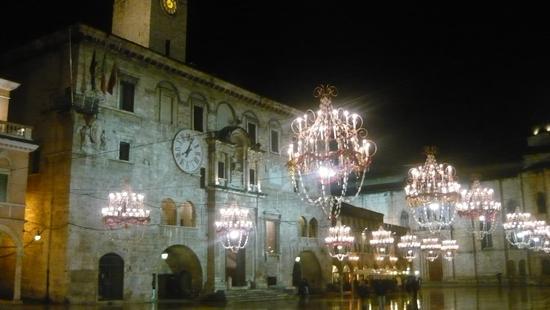 Ascoli by night - Ascoli piceno (1967 clic)