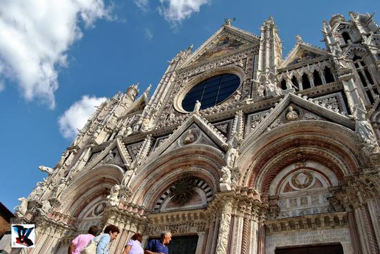 facciata duomo di Siena (1619 clic)