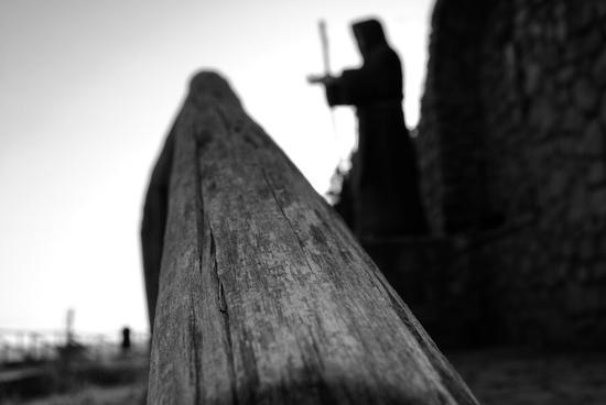 statua di S.Francesco di Paola verso il suo mare (738 clic)