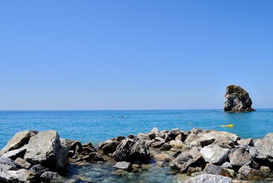 il mare di Guardia Piemontese (608 clic)