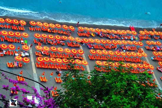 ombrelloni a Positano (553 clic)