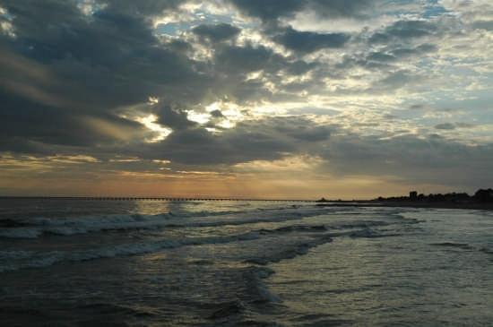 tramonto d'ottobre - Foce verde (3666 clic)