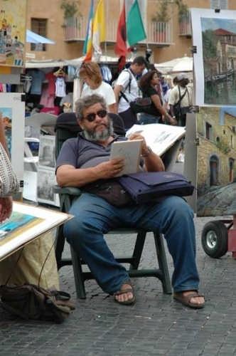 l'artista - Roma (2763 clic)