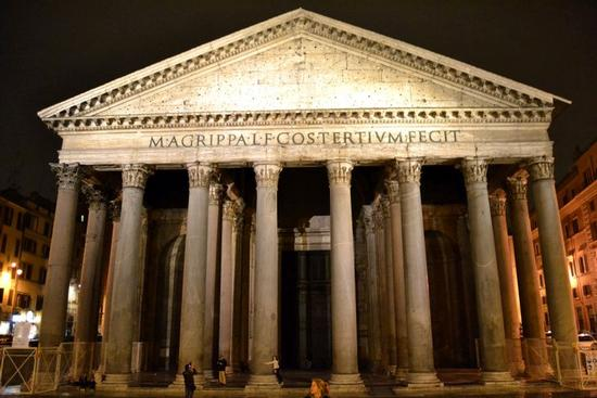 Pantheon by night - Roma (1454 clic)