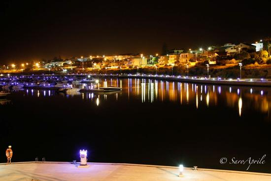Il Porto by night - Marina di ragusa (493 clic)