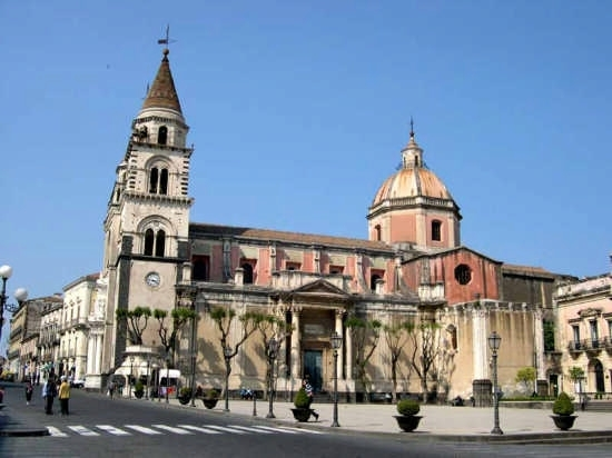 Acireale - Basilica Cattedrale Maria S.S. Annunziata (6299 clic)