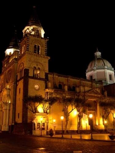 Acireale - Basilica Cattedrale Maria S.S. Annunziata (4159 clic)