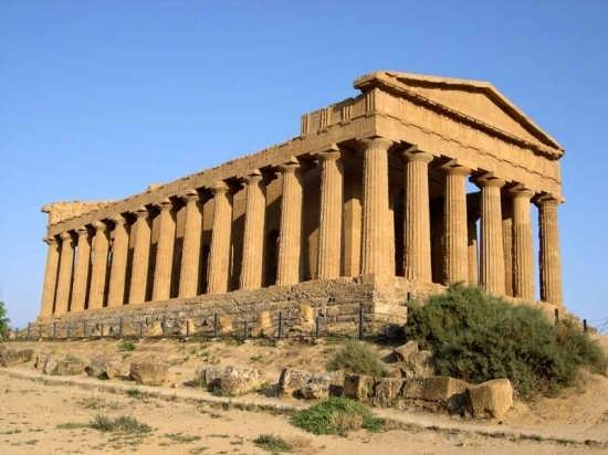 Tempio della Concordia - Agrigento (9454 clic)