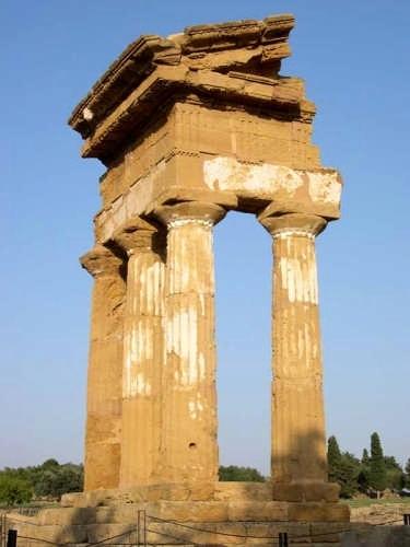 Tempio di Castore e Polluce - Agrigento (3205 clic)