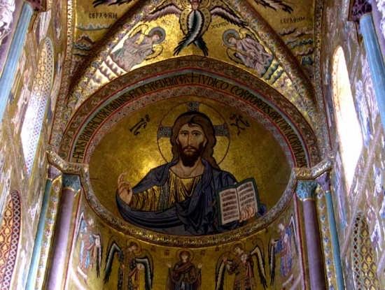 Il Duomo - Cristo Pantocratore - Cefalù (5388 clic)