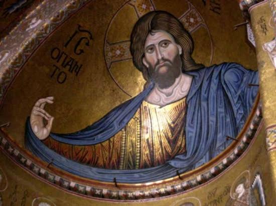 Monreale - Il Duomo - Cristo Pantocratore (10803 clic)
