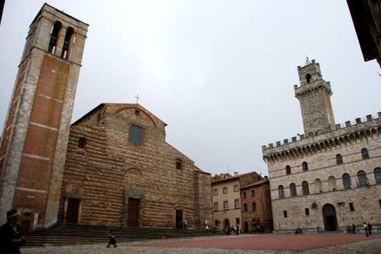 Il Duomo e il Palazzo Comunale - Montepulciano (2384 clic)