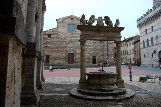 Pozzo dei Grifi e dei Leoni - Montepulciano (4212 clic)
