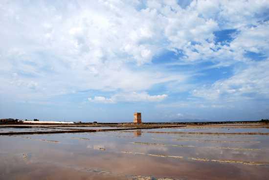 Le saline - Torre Nubia - Paceco (3781 clic)