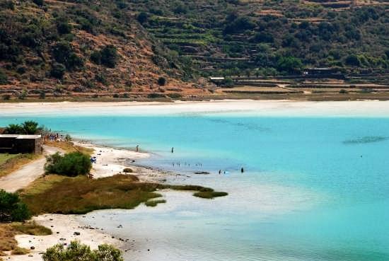Lago Specchio di Venere - Pantelleria (6313 clic)
