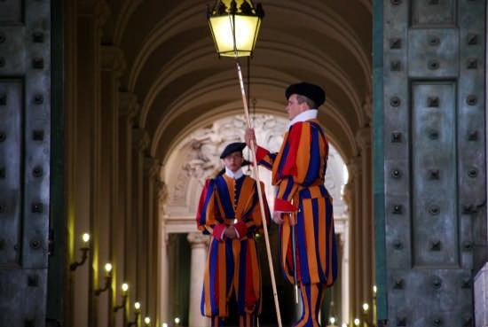 San Pietro - Guardie Svizzere - Roma (4580 clic)