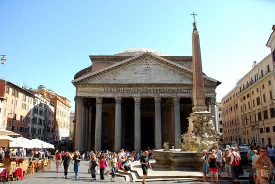 Il Panteon - Roma (2907 clic)