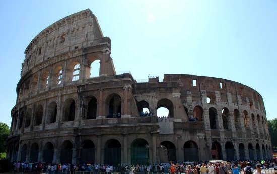 Il Colosseo - Roma (2492 clic)