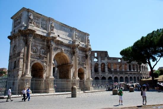 Arco di Costantino - Roma (2101 clic)