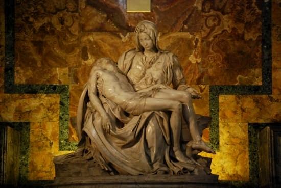 Basilica di San Pietro - La Pieta' - Roma (2606 clic)