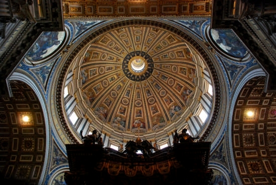 San Pietro - La Cupola - Roma (2983 clic)