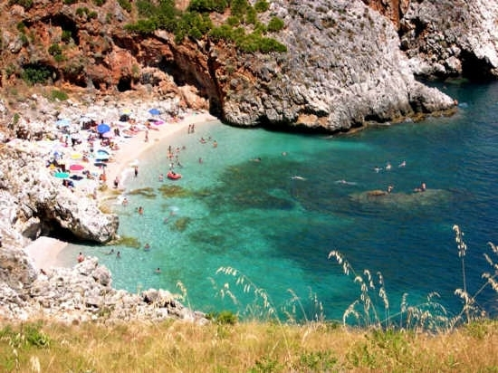 Riserva Naturale dello Zingaro - Cala Capreria - Scopello (7040 clic)